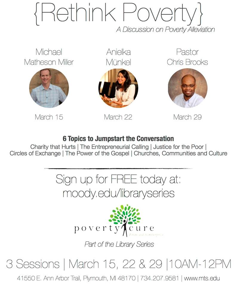 Poverty Cure Meetings – You Are Invited