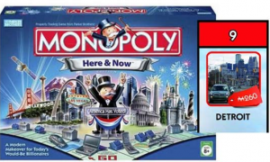 From FOX NEWS – Monopoly turns 80; Detroit nabs spot on new game board