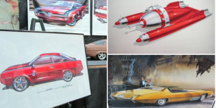Creativity Uncaged: Six Old-School Designers Show Us Their Automotive Fantasies