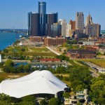 After being in the red, Detroit goes green