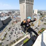 Not afraid of heights? Adventurous can rappel downtown
