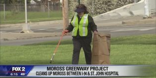 Moross Greenway Project working hard to clean up Detroit neighborhood