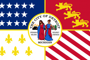 In honor of Flag Day, learn the story behind Detroit's own flag
