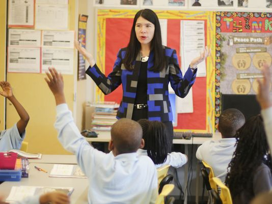 Detroit's new school system officially begins today