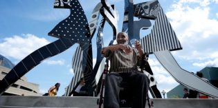 New sculpture in Detroit shows 'power of togetherness'