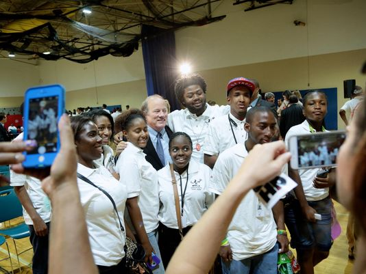 Youths earn money, gain experience at Grow Detroit