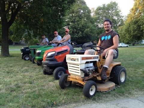 Detroit Mower Gang makes cut on video