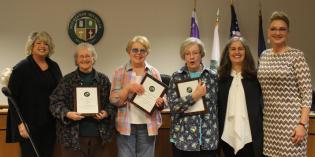 "City of Rochester presents ""Good Neighbor Award"""