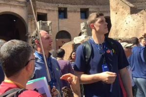 From the Detroit News – Sights, sounds from Michigan's second day in Italy