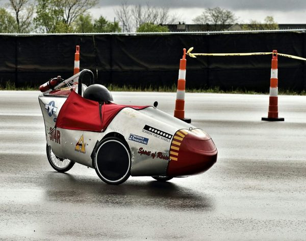 STUDENT-BUILT VEHICLES, SQUARE ONE, TO INVADE MCITY ON MAY 6