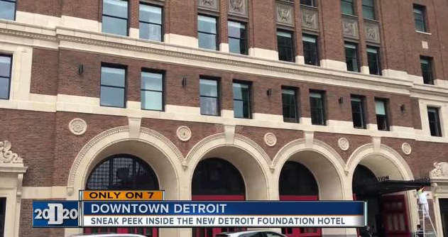 Sneak peek inside new Detroit Foundation Hotel  –  Channel 7