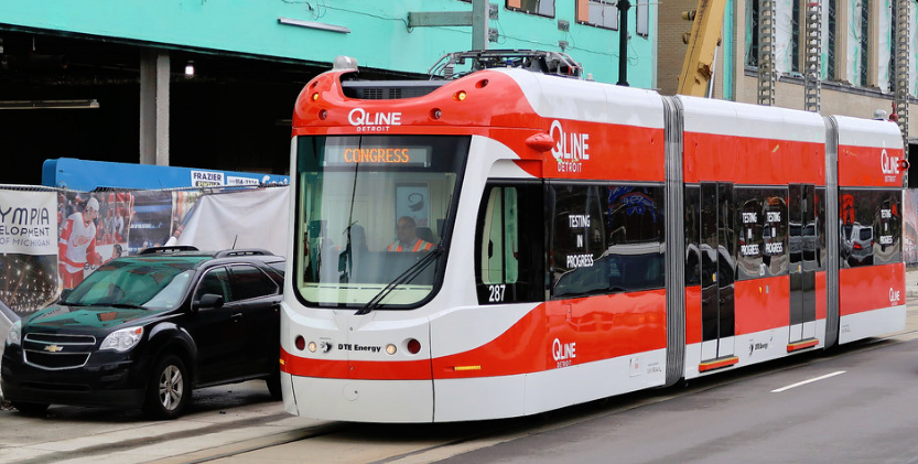 Q LINE DETROIT IS ON THE MOVE