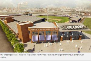 Detroit PAL launches brick campaign for Tiger Stadium site development