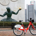 Detroit launches first public bike share system with 43 rental stations