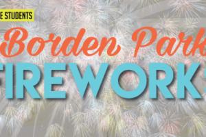 Borden Park Fireworks at Woodside Bible Church