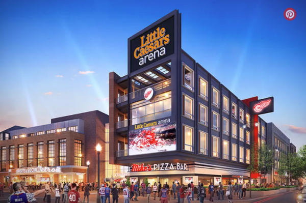 Even More Pizza Headed to Little Caesars Arena – From Eater Detroit