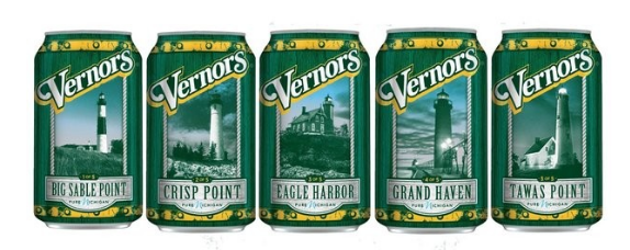 Vernors cans featuring Michigan lighthouses go on sale soon | MLive.com