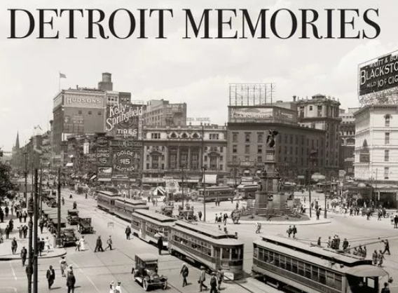Pre-order 'Detroit Memories,' our new photo book on Detroit's early history