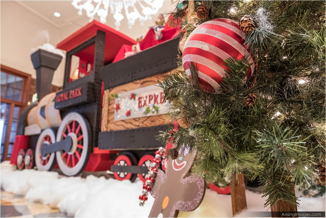 Royal Park Hotel – Gingerbread Express Ribbon Cutting