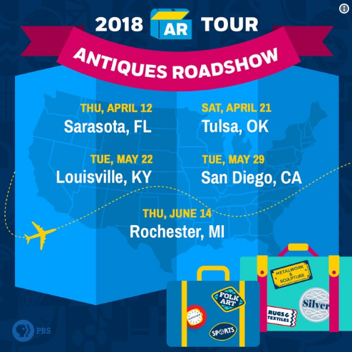 'Antiques Roadshow' to film 3 episodes in Rochester