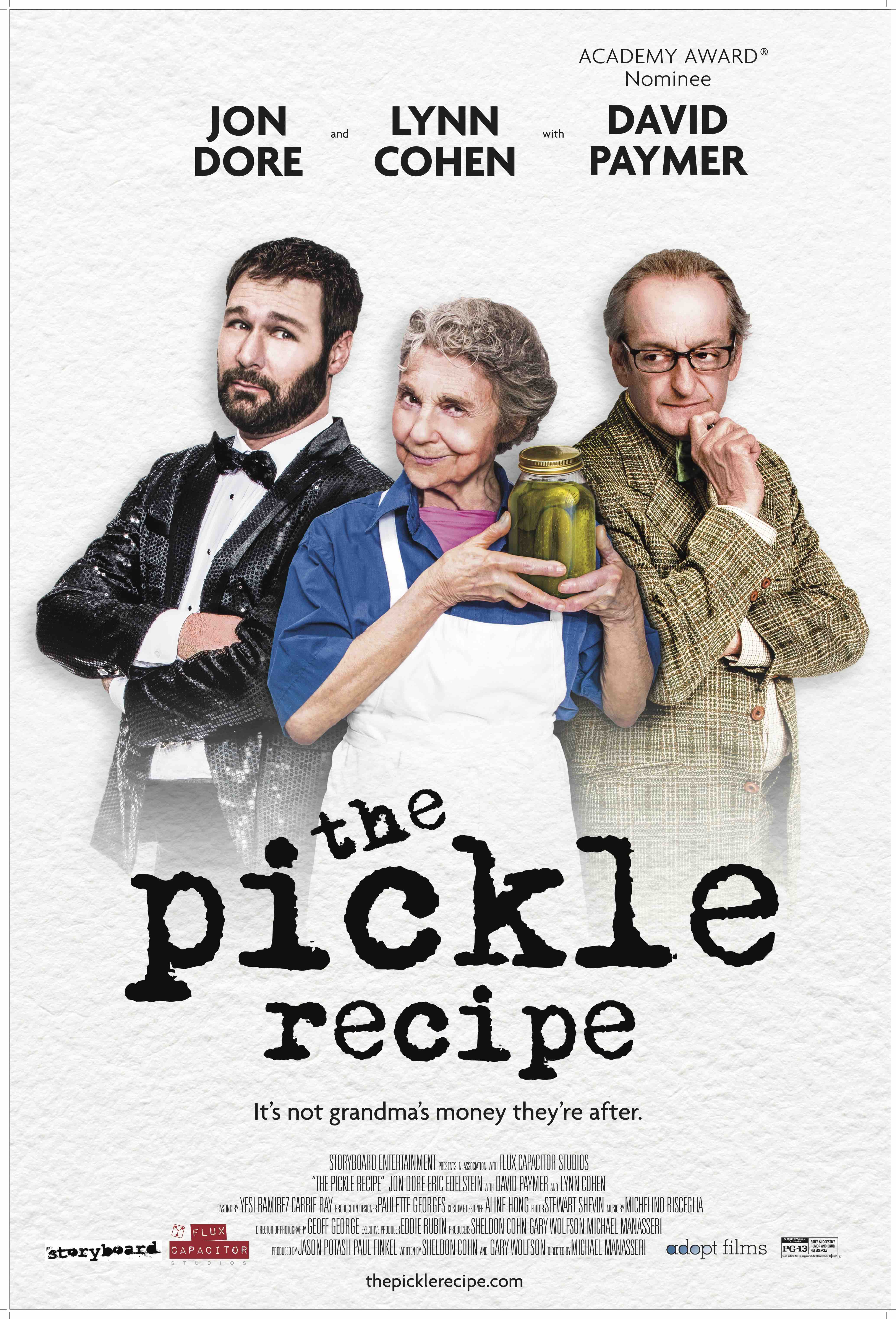 Detroit-based and Filmed Comedy, THE PICKLE RECIPE, Showing